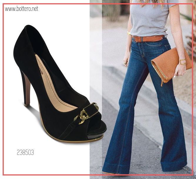 Look jeans flare